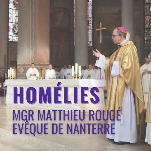 Dim. 28 mars 2021. Homélie de Mgr Matthieu Rougé, Dimanche des Rameaux.