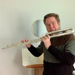 Improvisation N°27 « Spring's Morning » for Bass Flute