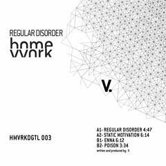 hmvvrkdgtl003_V. - Regular disorder ep