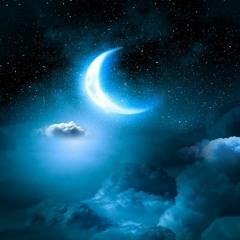 Relaxing Sleep Music - Fall Asleep Fast, Soft Piano Music, Ocean Waves (Blue Night)