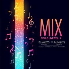 [(Dj Añazco)] Mix Style Live Vol. X