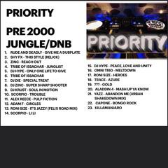 Priority - Pre 2000 Jungle And DnB Mix
