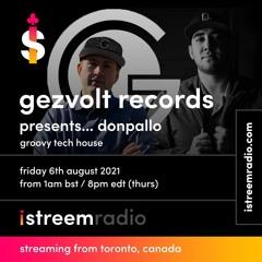 Gezvolt - Groovy Tech House EP12 with Donpallo
