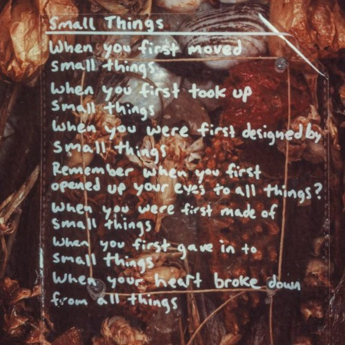 Small Things_commentary