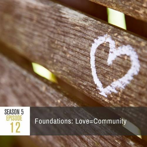 Season 5 Episode 12 - Foundations: Love=Community