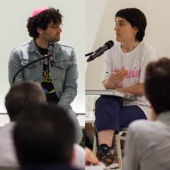 Conversation: Ad Minoliti and Adam Werner (2019)