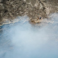 Erta Ale Volcano - Gases and lava bombs