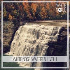 Das weiße Rauschen eines Wasserfalls