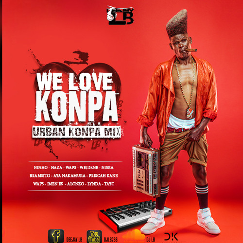 "DJ LB: ""We Love Konpa"" (Urban Konpa mix)"