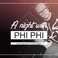 A Night With Phi Phi @ Comme Ça - 16/10/21 - 00.30h - 05.00h