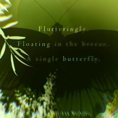 Flutteringly Floating Butterfly[Naviarhaiku350]