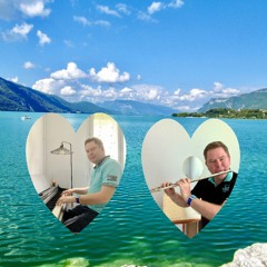 « A Bath In The Bourget Lake » for Flute and Piano