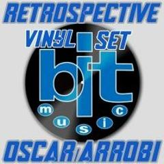 Retrospective vinyl at work bit/music OsacrArrobi