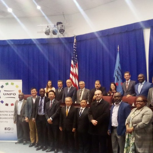 MOSOP President Fegalo Nsuke Speaks to VOA During the UNPO Meeting in Washington DC in March 2020