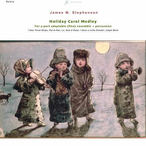Holiday Carol Medley - score playback