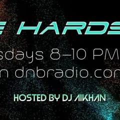 DJ Aikhan LIVE on DNBRADIO - The Hardside 6_22 OH NO