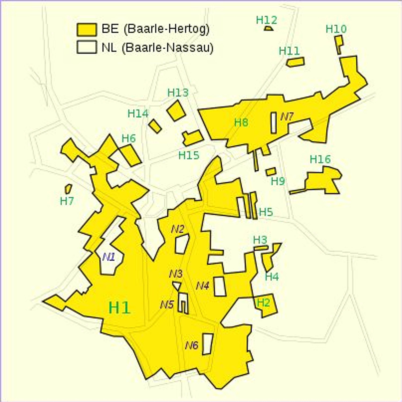 België van A tot Z: Baarle-Hertog