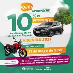 Juan Carlos Alfonso sec Hacienda Boy - Descuento Impuesto Vehículos 10%