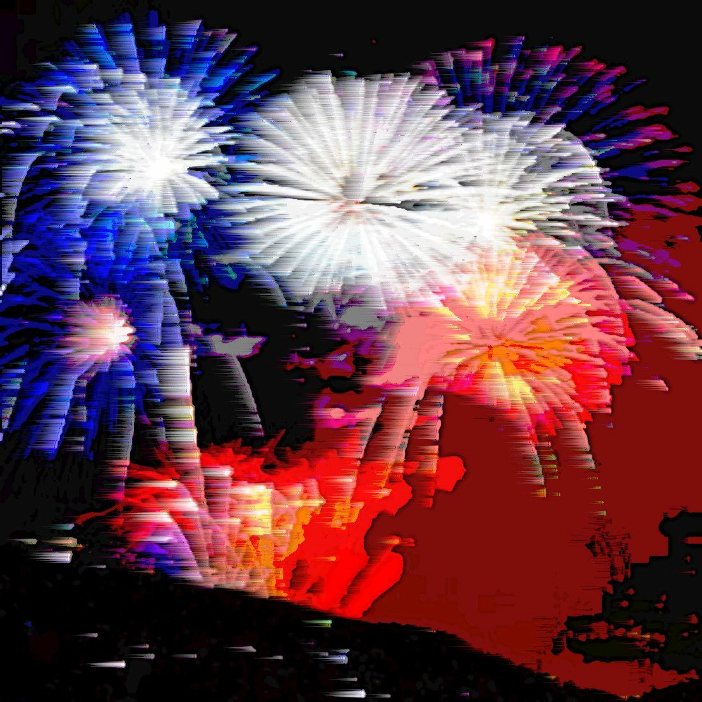 Firework Fusillade (naviarhaiku392)