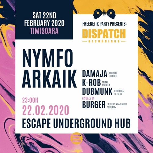 Arkaik - Dispatch Timisoara - Promo Mix, February 2020