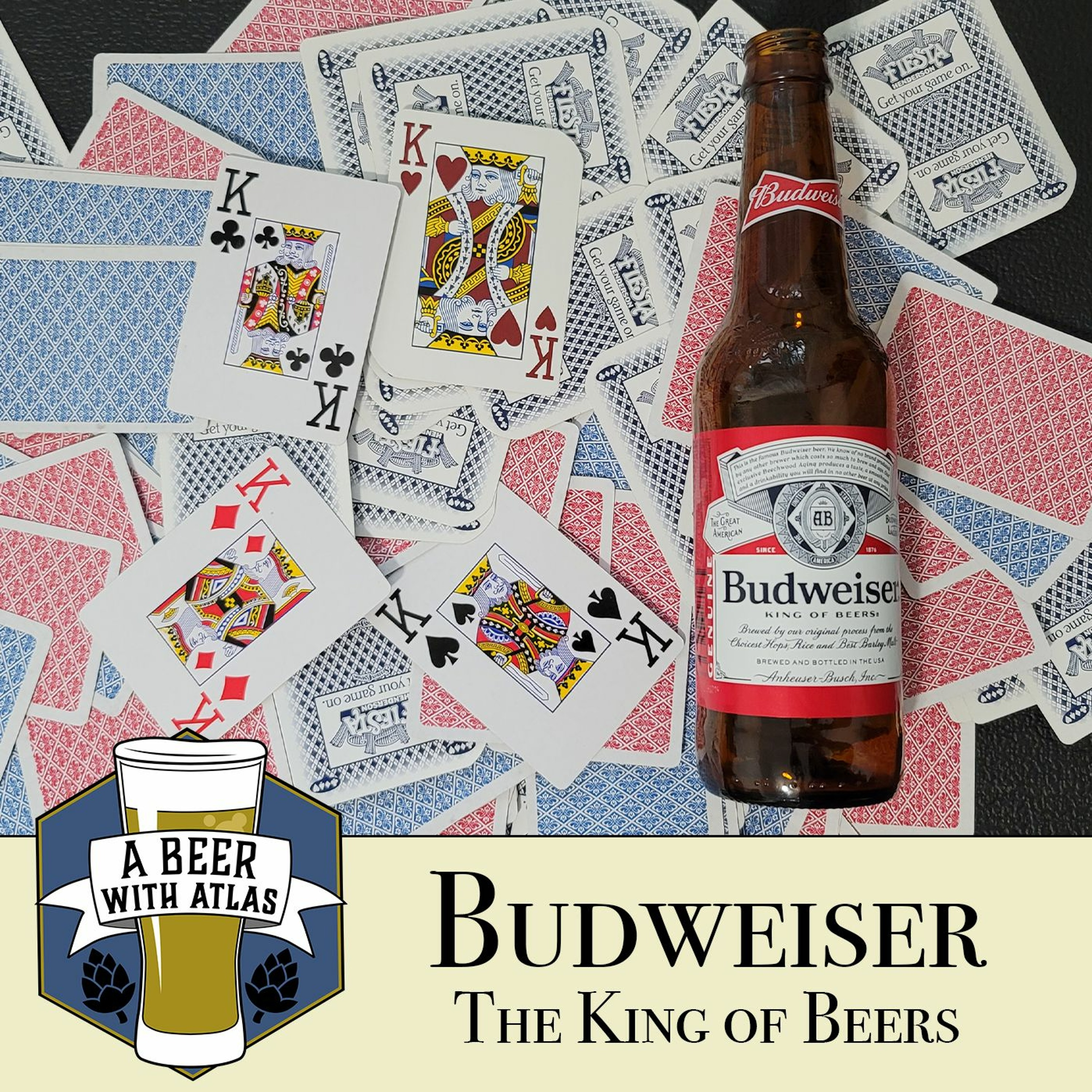 Budweiser | Mainstream May - A Beer with Atlas 142 - a travel nursing podcast
