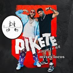 PIKETE MIXES LOCOS NICKY JAN Y EL ALFA  DVJMACOO DESCARGA EN LA DESCRIPCION