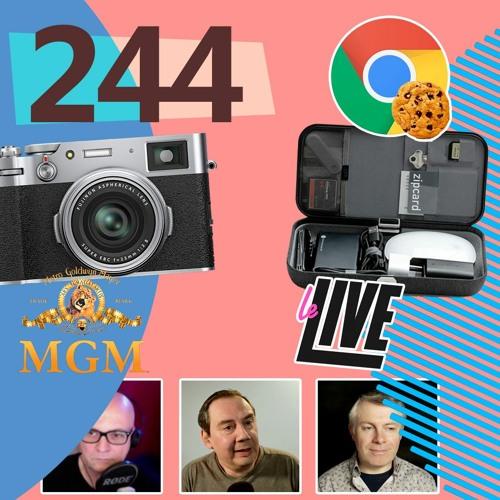 Le Live, X100V de Fujifilm, OrbitKey de Nest, Cookie de Google,... [Les Technos   Podcast #244]