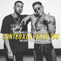 Don Omar X Lenny Tavarez, J. Quiles - Conteo X La Pared 360 (Mashup By Benavente)