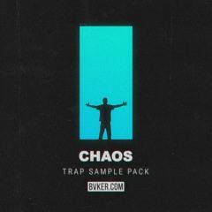 """Chaos"" Free Trap Sample Pack // 200+ Drum Shots, Loops, Melodies & MIDIs"