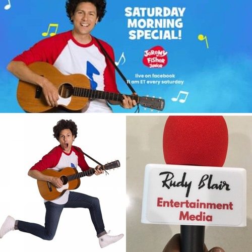 """Intv w Juno Nominee Jeremy Fisher on livestream Family concerts """"The Saturday Morning Special"""""""