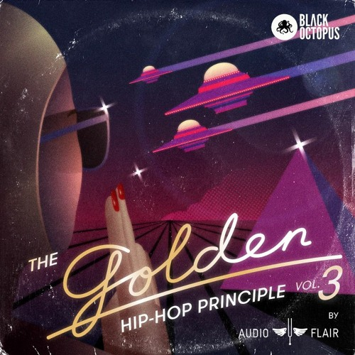 Black Octopus Sound The Golden Hip Hop V3 by Audioflair WAV-FLARE