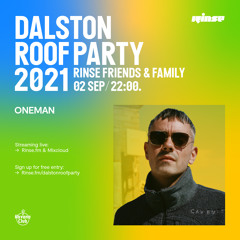 Dalston Roof Party: Oneman - 02 September 2021