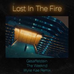 The Weeknd & Gesaffelstein - Lost In The Fire (Wylie Kae Remix)