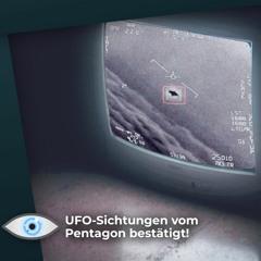 """""""Jeden Tag UFOs über dem Atlantik"""": Außerirdischem Leben auf der Spur?!"""