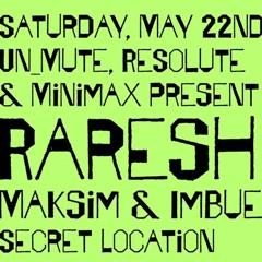 Opening Set for Raresh 5/22/21