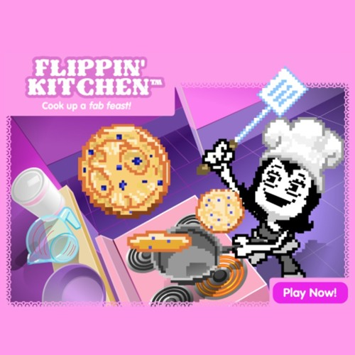 Pixel Chix Flippin Kitchen