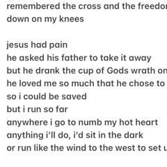 jesus' scars