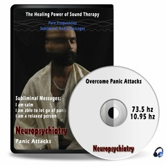 Overcome Panic Attacks - Pure frequencies 73.5 hz, 10.95 hz