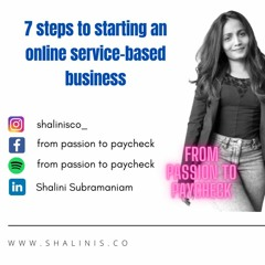 7 Steps To Start an Online Service-Based Business