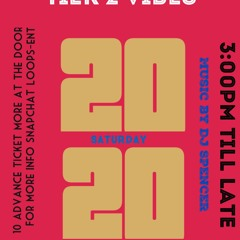 TIER 2 VIBES MIX CD 12 DEC 2020 @A2 LOUNGE SE6 4AF ADVICE COME EARLY 3:00PM TILL 10:00PM