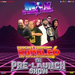 Podcast Promo Rumble 6 - Pre-Launch Show