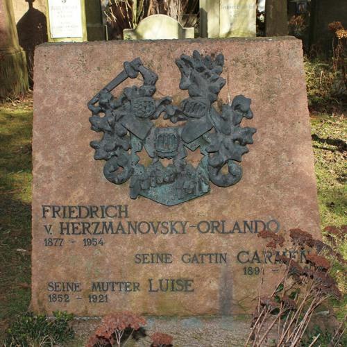 Fritz von Herzmanovsky-Orlando - Korrektur eines Dichterbildes