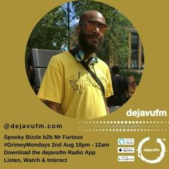 Deja Vu FM 2/8/21 b2b Mr Furious