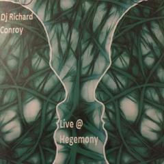 "Dj Rich.C & MC Uni-Q Live @ Hegemony ""Blast from the Past"" 03:00-04:15 set- House Music"
