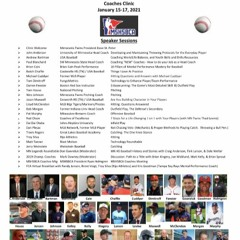 MSHSBCA Dugout Chatter Podcast for December, 2020 Virtual Clinic Edition