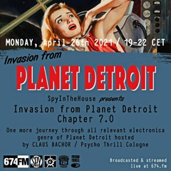 SITH INVASION FROM PLANET DETROIT 007 Podcast 26-04-2021