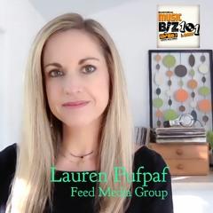 Lauren Pufpaf - COO/Co-Founder Feed Media: Music Biz 101 & More Podcast