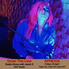 #149 Draw The Line Radio Show 23-04-2021 with guest mix 2nd hr by Aphexia