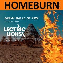 Homeburn 2020 Saturday Sunset