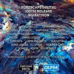 Narel — Forescape 100th Release Marathon Mix